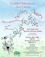 Spring Swing - Foothills Philharmonic Jazz Chorus