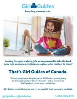 Girl Guides of Canada - Spark Leaders in Baturyn Area Sep 18