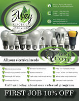 3 Way Electrical Services