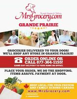 MrsGrocery.com Grande Prairie Hiring New Personal Shoppers/Deliv