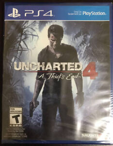 Uncharted 4 (new in-plastic) 30 obo
