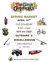 The Great Outdoors Spring Market !