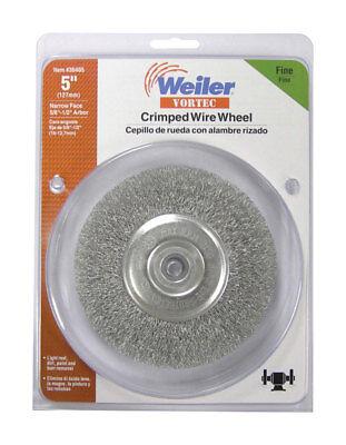 Weiler Vortec 5 In. Dia. Fine 12 In. Crimped Wire Wheel