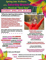 """Saturday Brunch and Musical """"Soul Spa"""""""