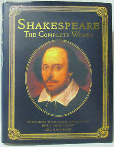 Shakespeare the complete works book 2005 Hardback