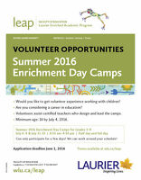 Volunteer with LEAP's Summer Enrichment Programming