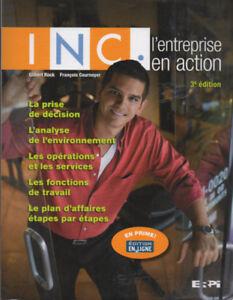 Inc., l'entreprise en action  3e éd.