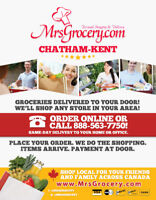MrsGrocery.com Personal shopping and delivery