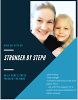 STRONGER BY STEPH: an at home fitness program for moms
