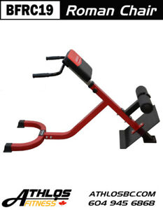 BRONSON Roman Chair Hyperextension Bench