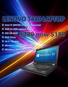 Fall Laptop Sale - Windows 10 Blow Out  - Starting @ Only $189!