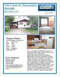 House for Sale Pleasantdale,SK