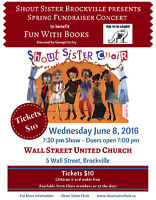 Shout Sister Fundraiser for Fun With Books