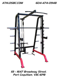 BRONSON power Cage / Rack / Smith Machine / Lat/ Pull Down