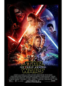 BRAND NEW Star Wars: The Force Awakens Poster