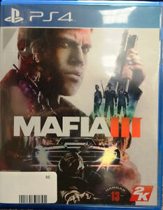 Mafia 3 For Sale At First Stop Swap Shop Peterborough Peterborough Area image 1