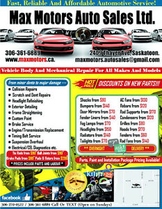 A/C system service starts from $65