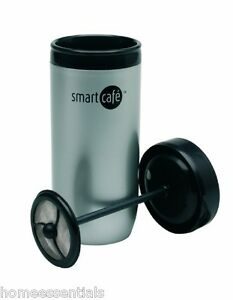 smart cafe hot cafetiere travel cup double walled plunger mug sebastian conran ebay. Black Bedroom Furniture Sets. Home Design Ideas