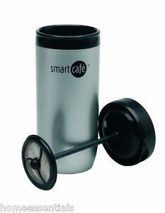 smart cafe hot cafetiere travel cup double walled plunger mug sebastian conran ebay. Black Bedroom Furniture Sets. Home Design Ideas