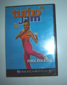 "Sealed ""Turbo Jam - Punch, Kick and Jam"" DVD"
