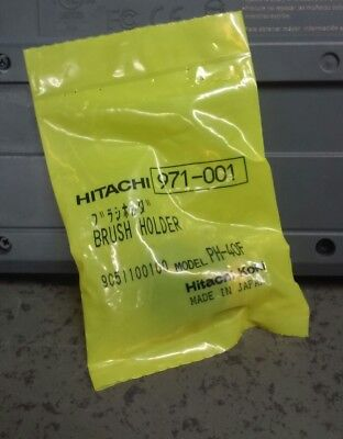 Hitachi 971-001 Brush Holder Genuine Part Hex Demolition Hammer