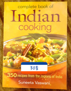 INDIAN COOKING BOOK 30$