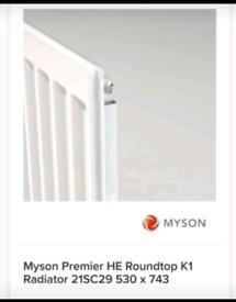 Myson Single Roundtop Radiator 530mm x 743mm