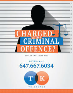 CHARGED WITH A CRIMINAL OFFENCE?