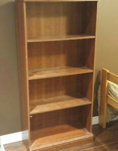 matching bookcase and dresser