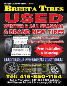 Used  Tires For sale.