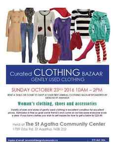 Curated Clothing Bazaar Kitchener / Waterloo Kitchener Area image 1