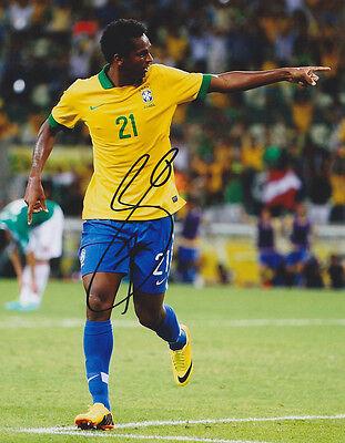 Jo Joao Silva Brazil World Cup Wc 2014 Signed Autograph 8X10 Photo Coa  3