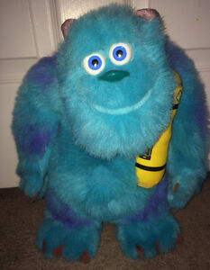 """Monsters Inc Sully Talking Plush Doll 14"""" Tall"""