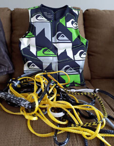 Body Glove Life Jacket and Tow Rope