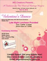 The Heart of Hastings Hospice Valentine's Dance Fundraiser