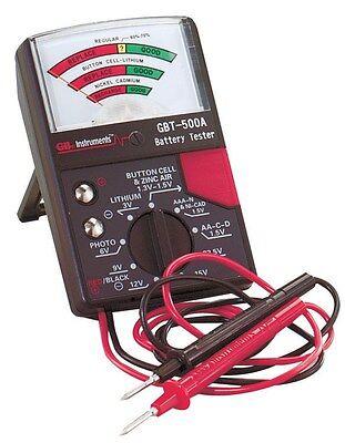 Gb Analog Battery Tester 1.25 V, 1.5 V, 22.5 V, 3 V, 6 V, 9 V