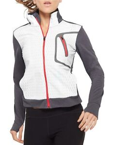Women's Gray Reflexo Colorblock Active Jacket