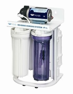 5 Stage R/O System with Booster Pump