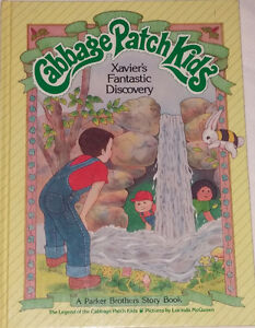 Cabbage Patch Kids Xavier's Fantastic Discovery Large Hard Book