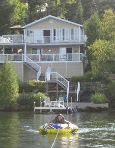 Bord du Lac des Français,navigable, Maison 4 saisons, Lanaudière