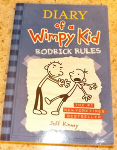 Diary of a Wimpy Kid book 2 - RODRICK RULES