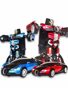Brand New Transformable Remote Control Robot Car
