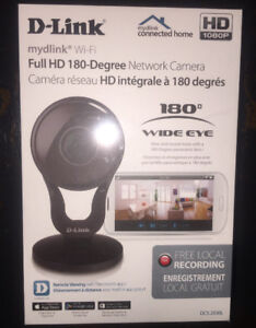 D-Link Full HD 180-Degree Wi-Fi Camera (DCS-2530L). Sealed