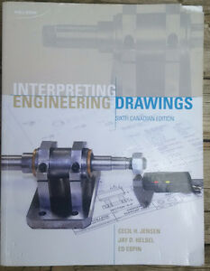 Interpreting enginering drawings Textbook Kitchener / Waterloo Kitchener Area image 1