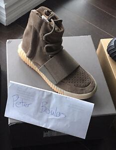 adidas Yeezy 750 Boost Brown/Chocolate Size 7 Deadstock