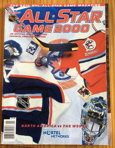 2000 NHL ALL-STAR GAME MAGAZINE - TORONTO West Island Greater Montréal image 1