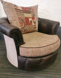 Swivel spin cuddle chair Delivery Available
