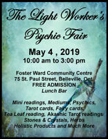 The light Worker's Psychic Fair---A call for crafters & sellers