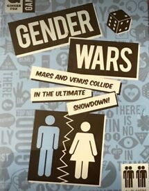 GENDER WARS FRIM GINGER FOX. BATTLE OF THE SEXES. NEW AND SEALED. 4 + PLAYERS.