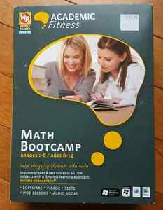 Fogware Publishing Weekly Raeder's Academic Fitness Math Bootcam